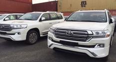 Toyota Land Cruiser 2017 đầu tiên về Việt Nam